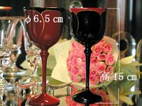 ワイングラス花ライン