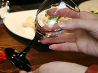 ワイングラス星に願いを黒単品